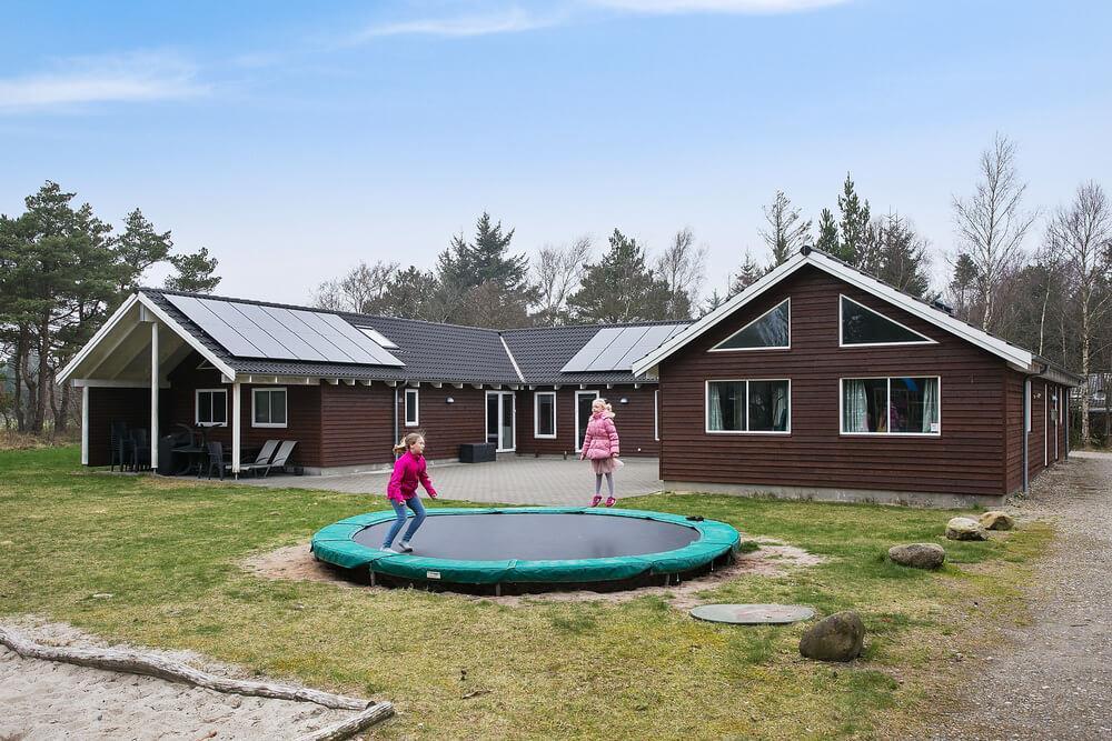 Sommerhus til 24 personer ved Blåvand, Ho