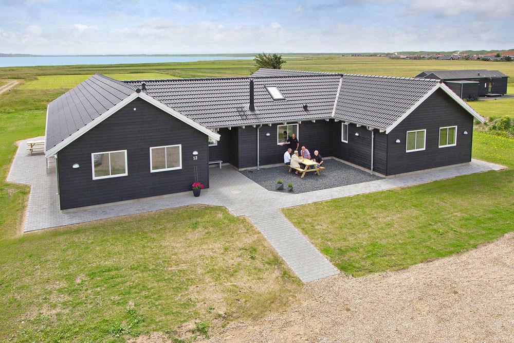 Sommerhus til 22 personer ved Vejlby Klit